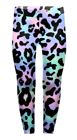 Leopard Holo Children's Leggings