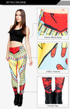 Regular Leggings (8-12 UK Size) - Superwoman - Kukubird_UK