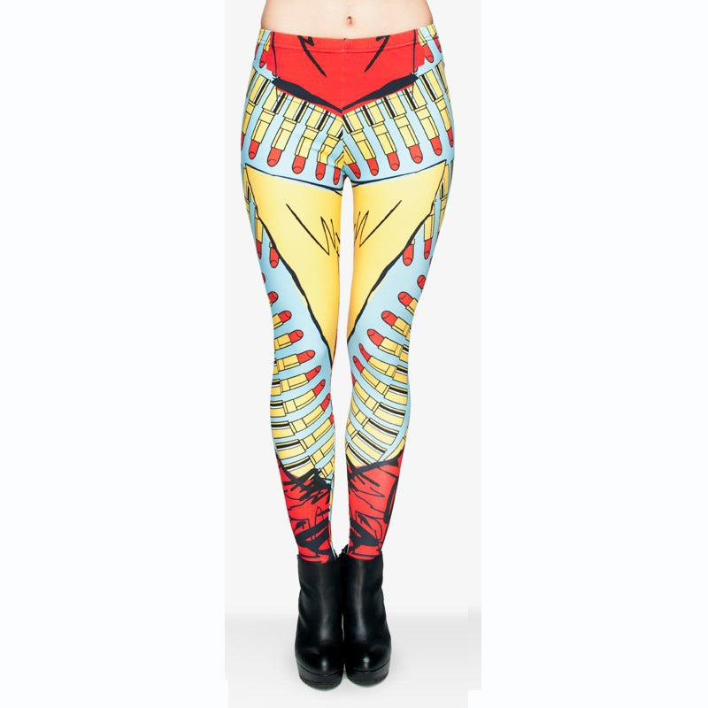 superwoman leggings-Kukubird_uk