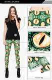 Green Snake - Kukubird_uk Leggings, Tights