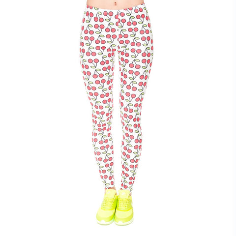 Cherry - Kukubird_uk Leggings, Tights