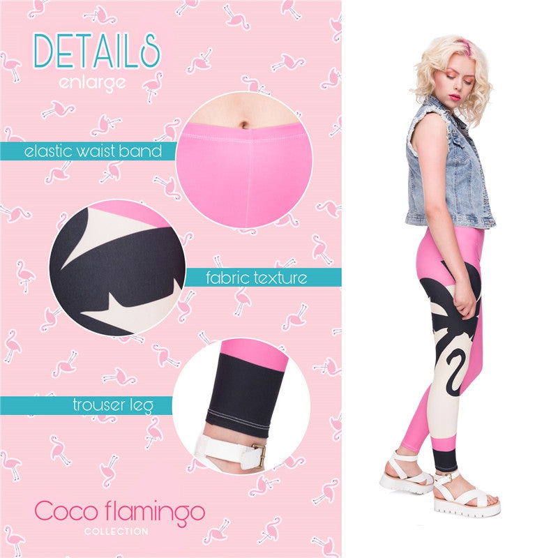 'Pink Sunset' Kukubird Leggings