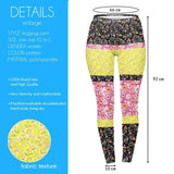 Regular Leggings (8-12 UK Size) - Ditsy Florals - Kukubird_uk Leggings, Tights