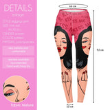 Kiss me - Kukubird_uk Leggings, Tights