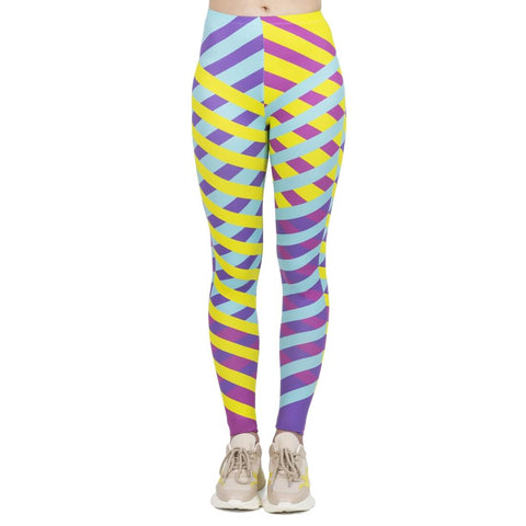 Cross Lines - Kukubird_uk Leggings, Tights
