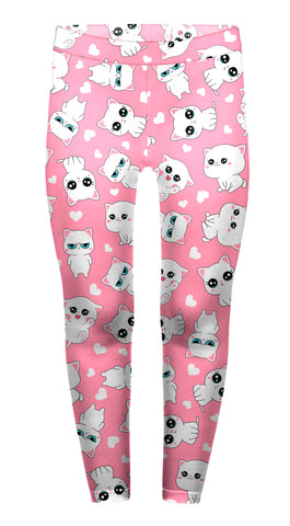 Cat Hearts Children's Leggings