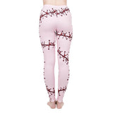Regular Leggings (8-12 UK Size) - Suture Pink - Kukubird_UK