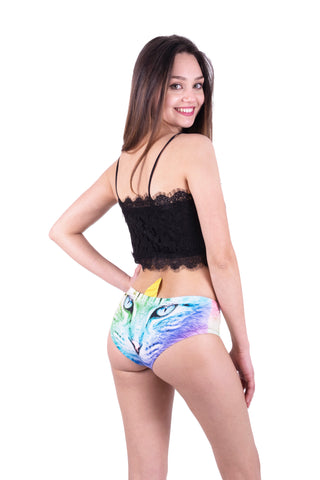 Rainbow Caticorn Horn Pantie - Kukubird_uk