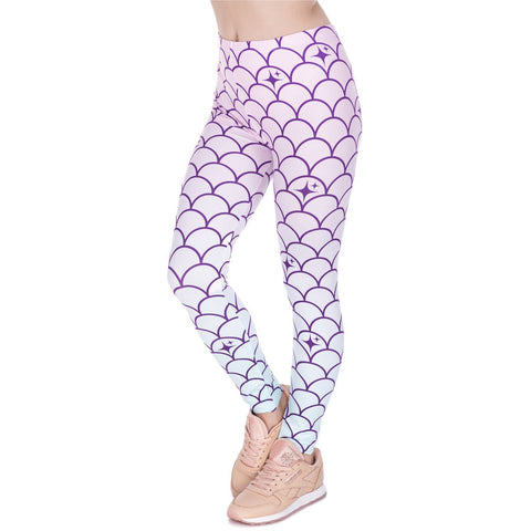 Mermaid Tail - Kukubird_uk Leggings, Tights