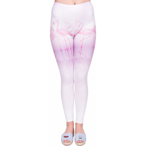 Regular Leggings (8-12 UK Size) - Pink Floor - Kukubird_uk Leggings, Tights
