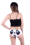 Horn Pantie - Dapper Pandacorn (6-10 UK Size) - Kukubird_UK