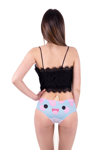 Ice Cream Narwhal Horn Pantie - Kukubird_uk