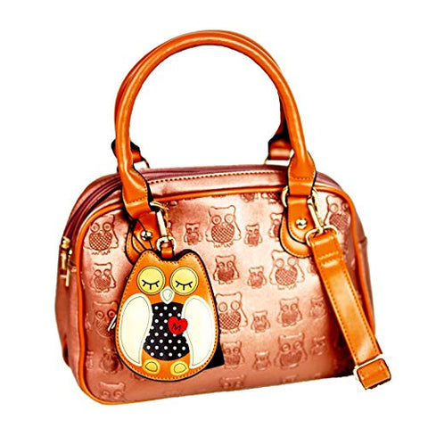 Owl Handbag - Brown - Kukubird_uk Leggings, Tights