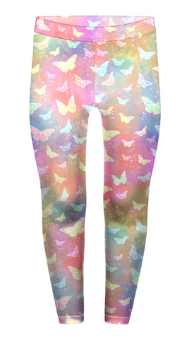Holo Butterfly Children's Leggings