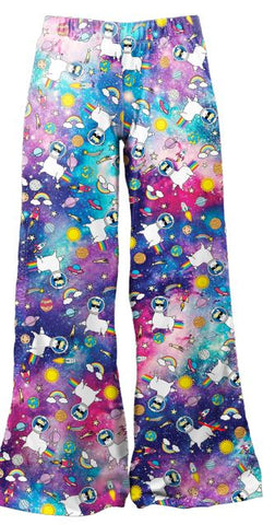 Loungewear Galaxy Llama - Kukubird_uk Leggings, Tights