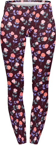 Dark Roses - Kukubird_uk Leggings, Tights