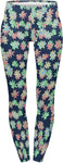 Regular Leggings (8-12 UK Size) - Crazy Daisies - Kukubird_uk Leggings, Tights