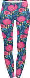 Pink Poppies - Kukubird_uk Leggings, Tights