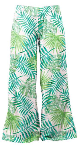 Watercolour Palms - Kukubird_uk Leggings, Tights