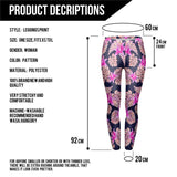 Pink Vegetation - Kukubird_uk Leggings, Tights