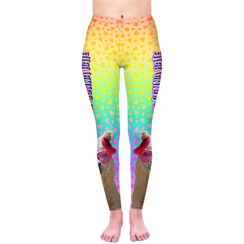 Llama Haters - Kukubird_uk Leggings, Tights