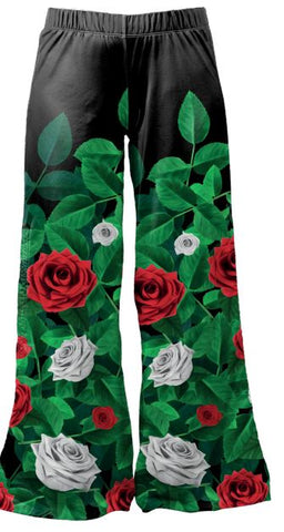 Paint the Roses Red - Kukubird_uk Leggings, Tights
