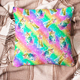 Pillow - Rainbow Cat - Kukubird_uk Leggings, Tights