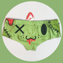 Horn Pantie - Zombie Caticorn (6-10 UK Size) - Kukubird_UK