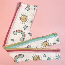 Regular Leggings (8-12 UK Size) - CUTE RAINBOW SKIES
