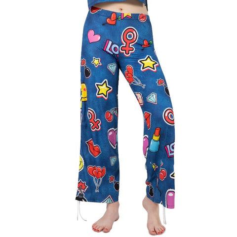 Loungewear Jeans Patches - Kukubird_UK