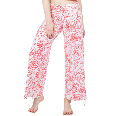 Loungewear Roses With Love Stripes - Kukubird_UK