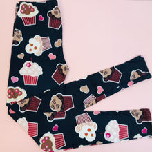 Regular Leggings (8-12 UK Size) - Muffins - Kukubird_UK