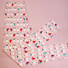 Regular Leggings (8-12 UK Size) - Disguised Llamas - Kukubird_UK