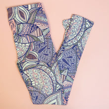 Regular Leggings (8-12 UK Size) - Aztec Jungle - Kukubird_UK