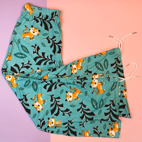 Loungewear Cartoon Tiger - Kukubird_UK