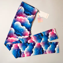 Midnight Clouds Regular Leggings 8-12 - Kukubird_UK