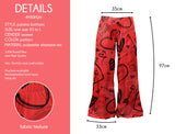 Red Heart Doodles - Kukubird_uk Leggings, Tights