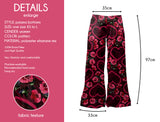 Roses And Hearts - Kukubird_uk Leggings, Tights