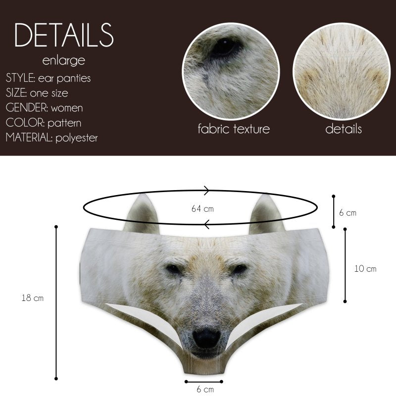 Polar Bear Ear Pantie-Kukubird_uk