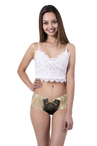 Pug Ear Pantie - Kukubird_uk