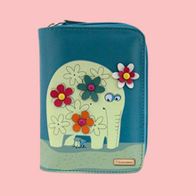 Kukubird Medium Purse Elephant And Mouse Purse - Blue