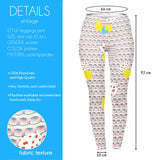 Stacked Cherry Kiss - Kukubird_uk Leggings, Tights