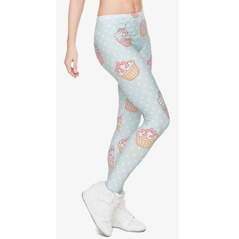 Muffin Dots - Kukubird_uk Leggings, Tights