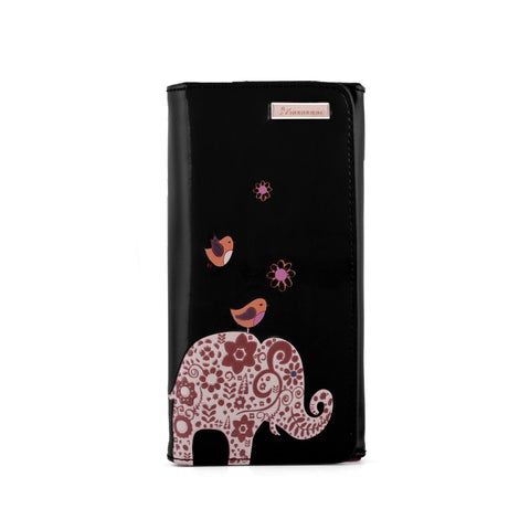 Kukubird Large Purse Elephant - Black - Kukubird_UK