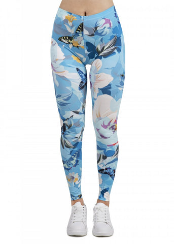 Floral Garden - Kukubird_uk Leggings, Tights