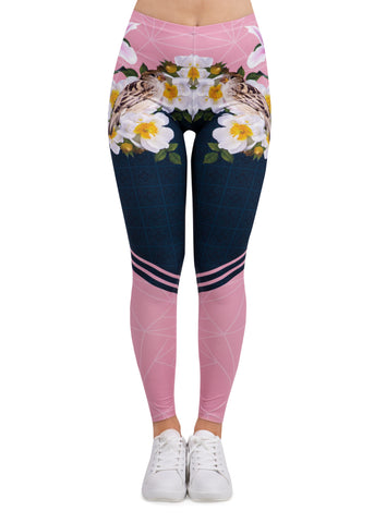 Spring in Bloom - Kukubird_uk Leggings, Tights