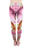 Regular Leggings (8-12 UK Size) - Princess Pugerella - Kukubird_UK