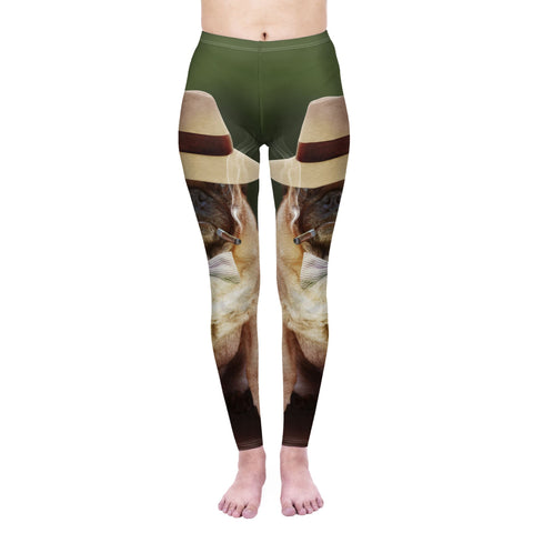 Smoking Gangster - Kukubird_uk Leggings, Tights
