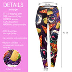 Regular Leggings (8-12 UK Size) - Trippy Junk Pug - Kukubird_uk Leggings, Tights