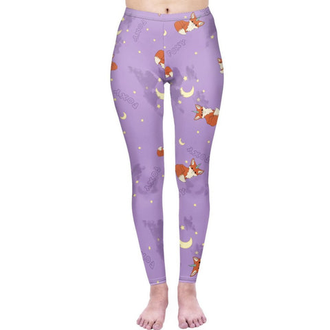 Foxicorn - Kukubird_uk Leggings, Tights
